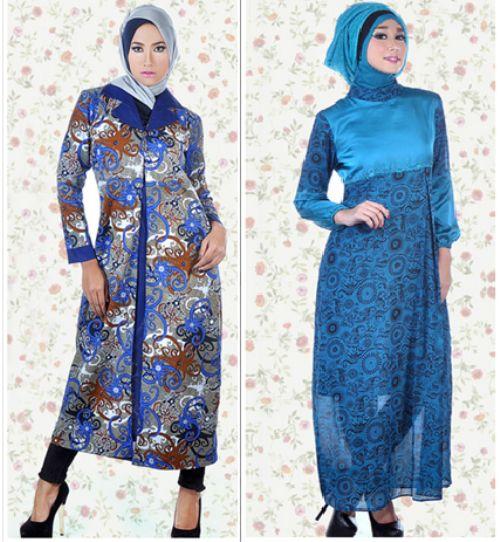 Gamis batik kasual-8