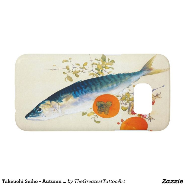 Takeuchi Seiho - Autumn Fattens Fish and Ripens Samsung Galaxy S7 Case