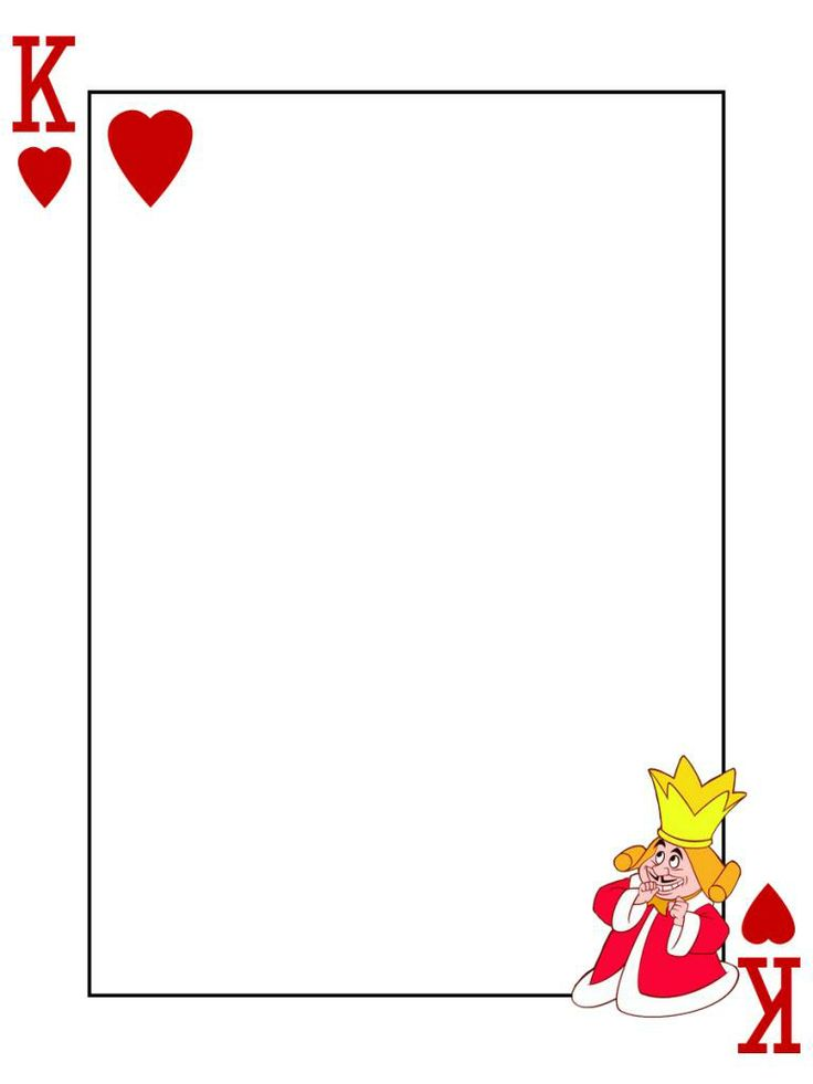 "King of Hearts - Playing Card - Project Life Journal Card - Scrapbooking ~~~~~~~~~ Size: 3x4"" @ 300 dpi. This card is **Personal use only - NOT for sale/resale** Logo/clipart belongs to Disney. Font is Card Characters http://haroldsfonts.com/portfolio/card-characters/ *** Click through to photobucket for more versions of this card ***"