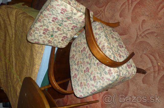 predam rozkladaci mohutný gauč a dve kresla a stolik - 1