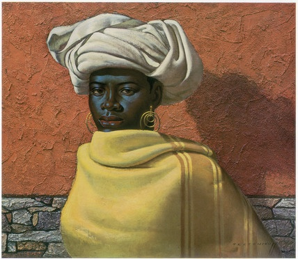 Swazi Girl by Vladimir Tretchikoff (1950s)... need it in my collection.