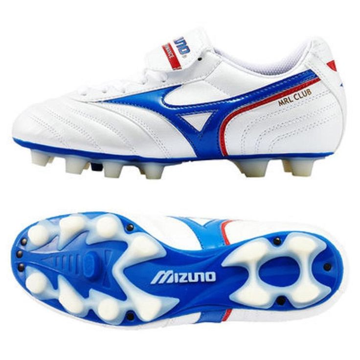 Mizuno Morelia Club MD Men's HG Football Boots Firm Ground Moulded Studs White  | eBay