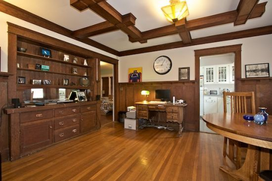 Wood Flooring Or Paneling Cabinetry And Built In