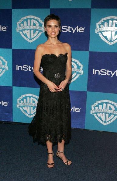 Natalie Portman - Warner Brothers/InStyle Golden Globe Party