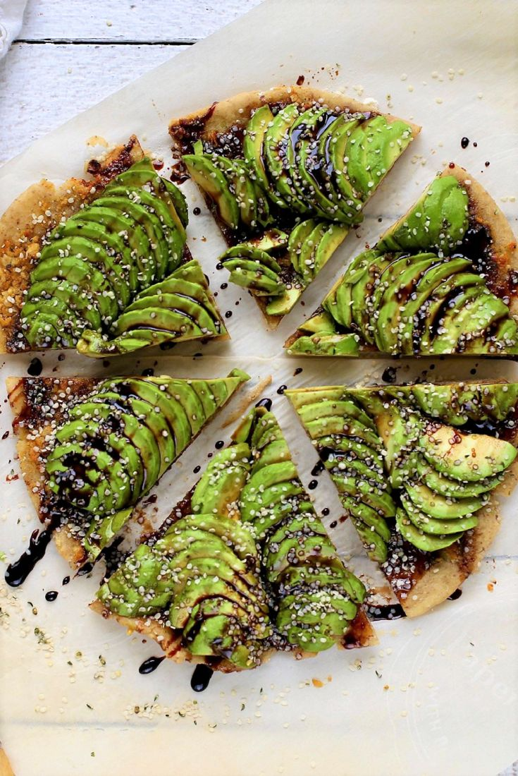 Avocado Flatbread Appetizer