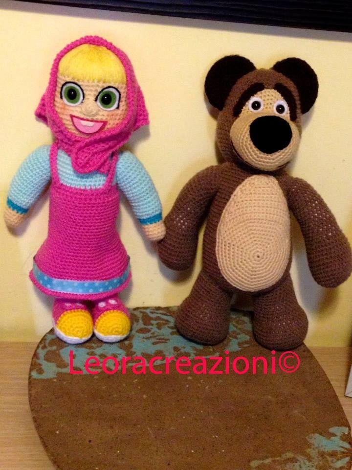 Masha and bear Misha