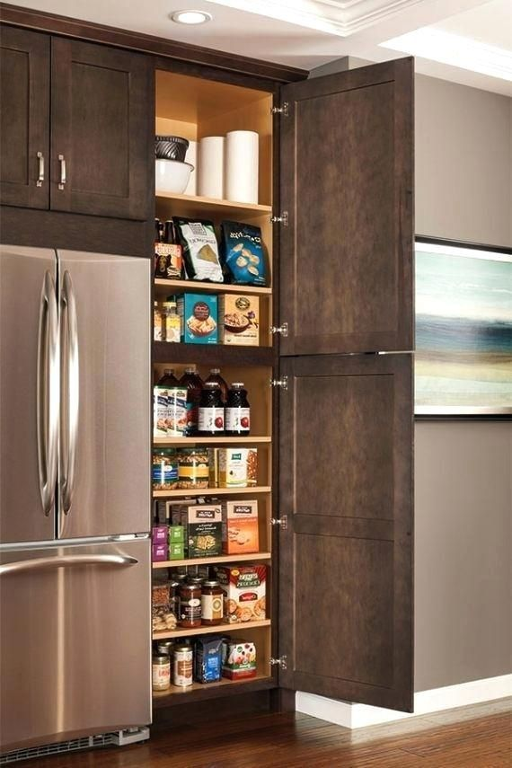 Pin By Marsha Merritt On Organizing Kitchen Wall Cabinets Interior Design Kitchen Small Pantry Cabinet