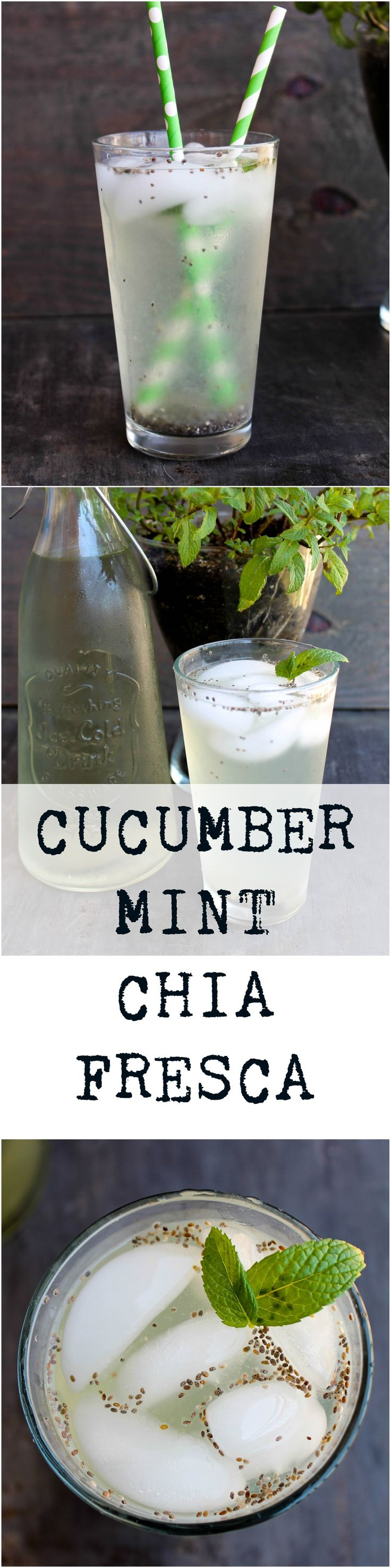 Cucumber Mint Chia Fresca is an easy and flavorful beverage that keeps you hydrated and possibly help you with your soda/caffeine addiction!