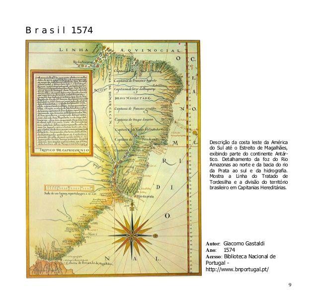 Mapas Antigos do Brasil - Coleção Digital de 32 mapas do Séc XVI ao X…