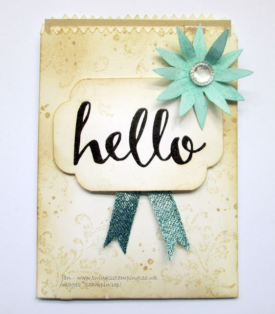 Twinks Stamping   Stampin' Up! Demonstrator: Playday M&T  Hello.......