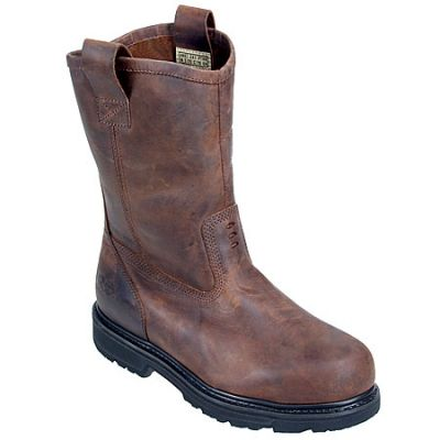 Timberland Pro Boots 33004 Mens Wellington EH Pull On Steel Toe Boots