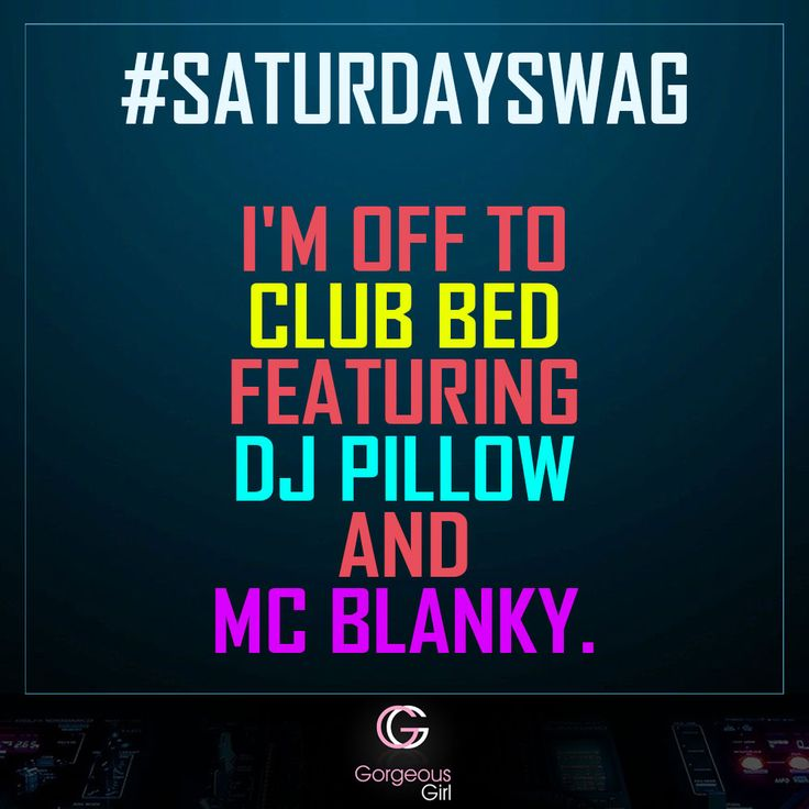 Saturday is sooo good  #SaturdaySwag  Snap on for more -> www.gorgeousgirl.com/