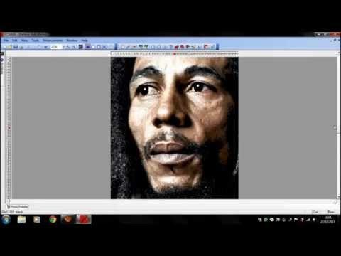 PcStitch… Bob Marley @ReggaeHeart