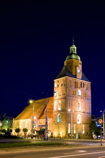 Cathedral in Gorzow Wlkp, Poland - built in XIII century