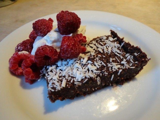 Raw Chocolate Cake (with non-raw option)