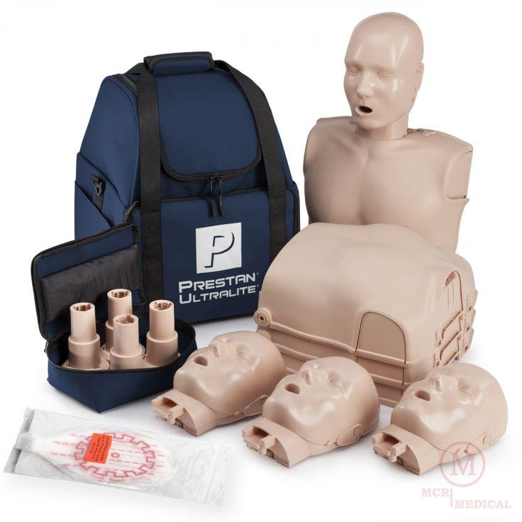 4-Pack of Prestan Ultralite CPR Manikins, Adult