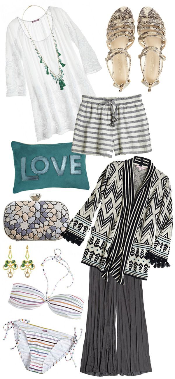 Day to night style from Waiting on Martha. #travel #fashion