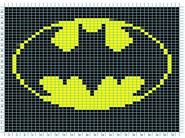 All sizes | Batman Logo Chart | Flickr - Photo Sharing!