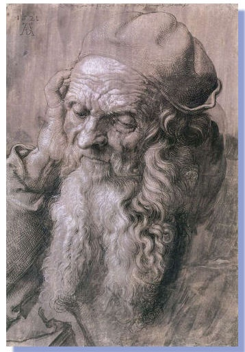 Drawing by Michelangelo (1475 - 1564)