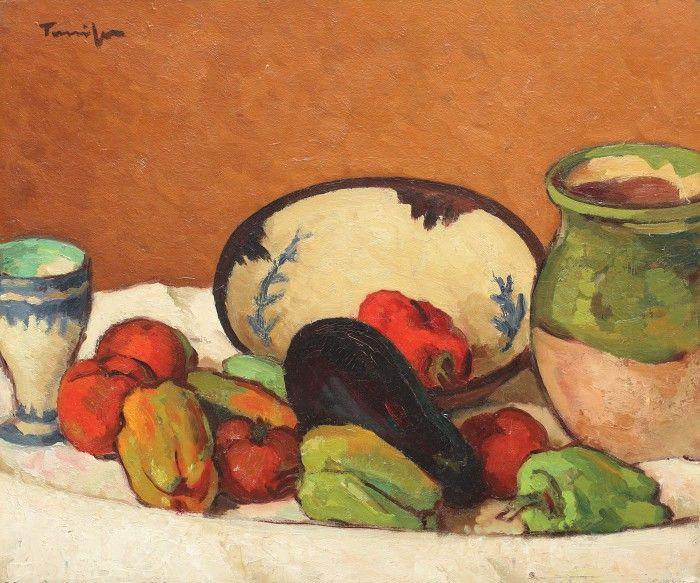 Nicolae Tonitza, Natură statică cu legume