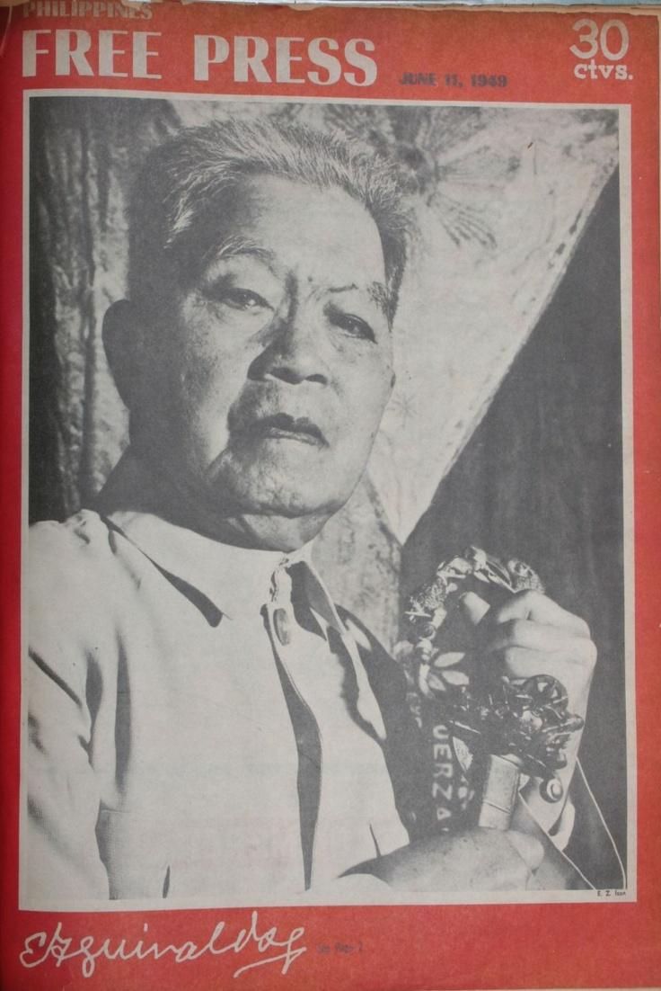 38 best ideas about Emilio Aguinaldo on Pinterest ...