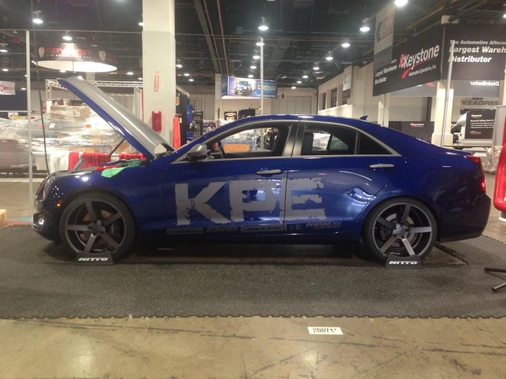 Worldsfirst Cadillac Ats On Cv3 Sema 2013 Pinterest