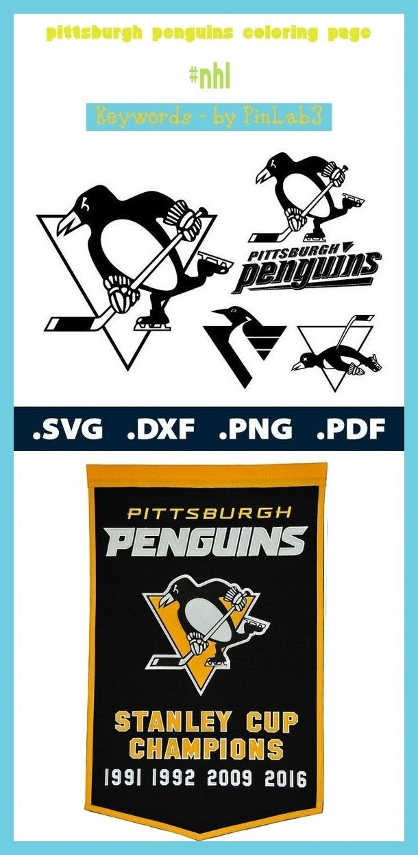 Pittsburgh Penguins Coloring Page Pittsburgh Penguins Coloring