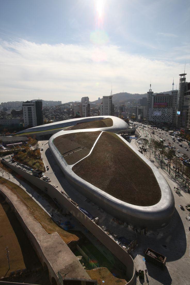 #DDP #Dongdaemun #Seoul #Zaha Hadid #Dongdaemun design plaza