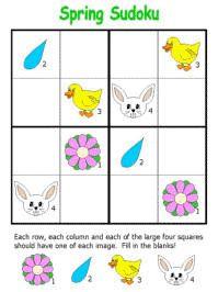 Spring Sudoku Puzzles