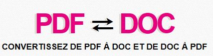 Convertir un PDF en word - Dix mois