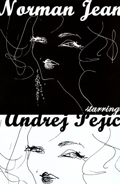 """Norman Jean starring Andrej Pejic by LOVE CAT MAGAZINE"" Lovely film. He is awesome! アンドレ・ペジックが演じるノーマ・ジーン。 美しいフィルム。彼は本当にすごい!"