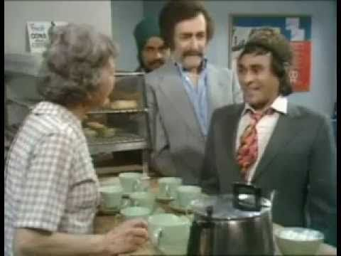 Mind Your Language very funny video: 'No tea, only 'hot water' - http://thatfunnyblog.com/funny-videos/funny-tv-bloopers/mind-your-language-very-funny-video-no-tea-only-hot-water/