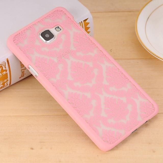 Sexy Retro Floral Phone Case For Samsung Galaxy A3 A5 A7 2015 J5 J7 J3 J1 2016 S8 S4 S5 S6 S7