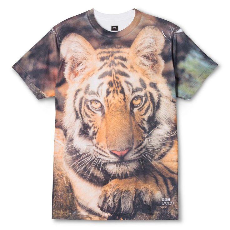 Men's Bbc America Tiger T-Shirt White -