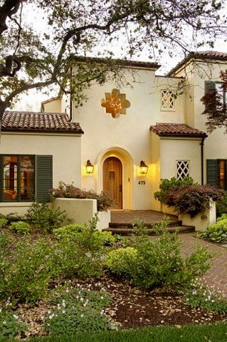 17 best images about restoring an old house on pinterest for Spanish revival exterior paint colors