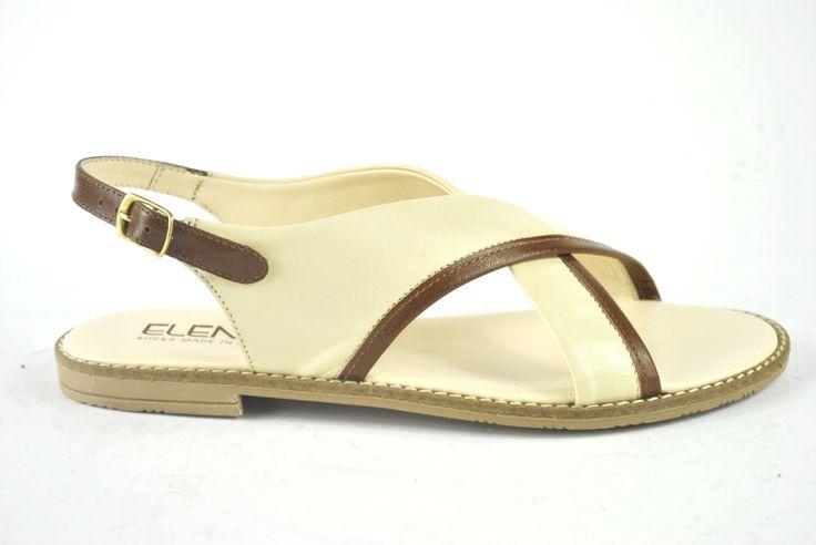 Elena Shoes Made In Italy - Spring Summer Collection - Collezione Primavera Estate - Sandal - Sandalo - Panna - Fashion - Glamour