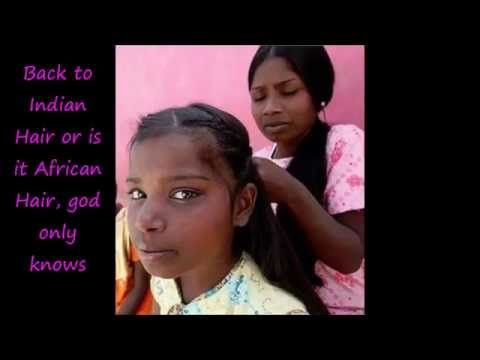 ▶ Naturally Straight West African Hair vs India(Proving that African women have natural straight hair) - YouTube
