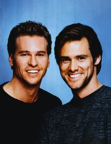 Val Kilmer and Jim Carrey- this is probably the greatest picture in existence.