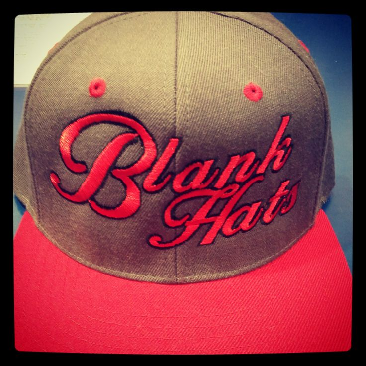 Blankhatsforcharity snapback red and grey  www.facebook.com/Blankhatsforcharity