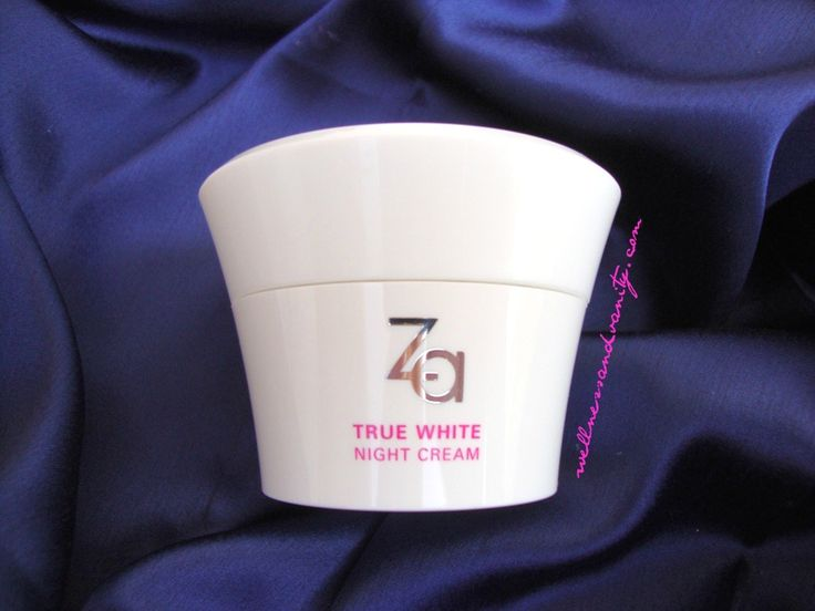 Za True White Night Cream Review | WELLNESS&VANITY