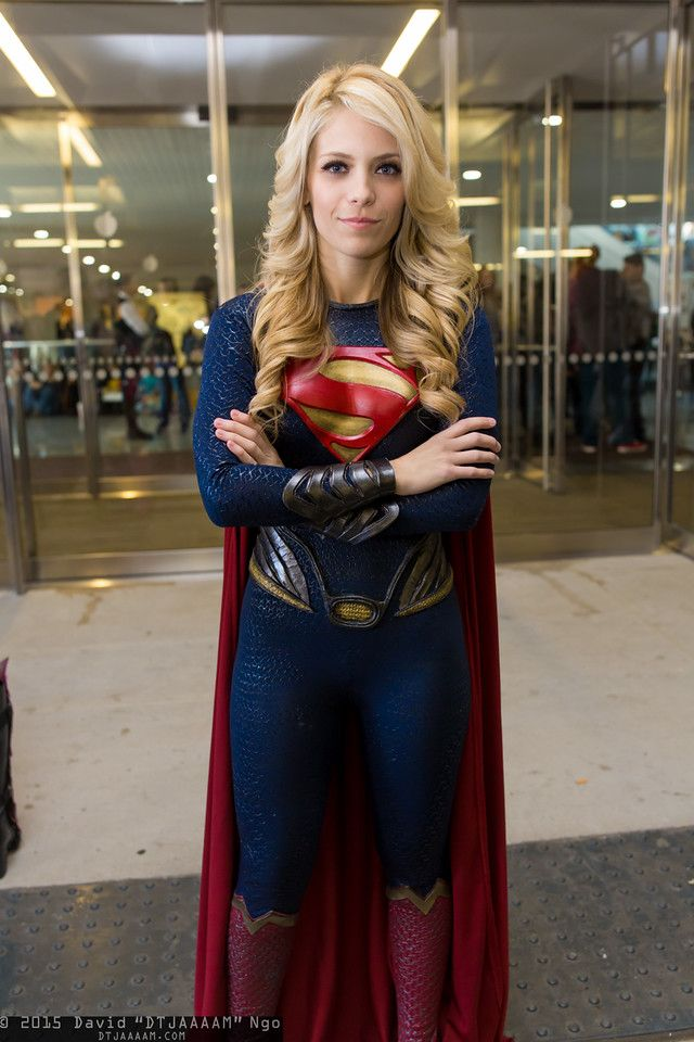 Supergirl cosplay by Laney Fenimore #NYCC 2015