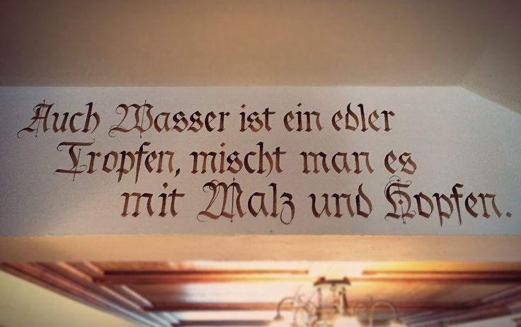 ein guter Grund für ein #Augustiner #Bier in unserem Landgasthof in #Oberstdorf