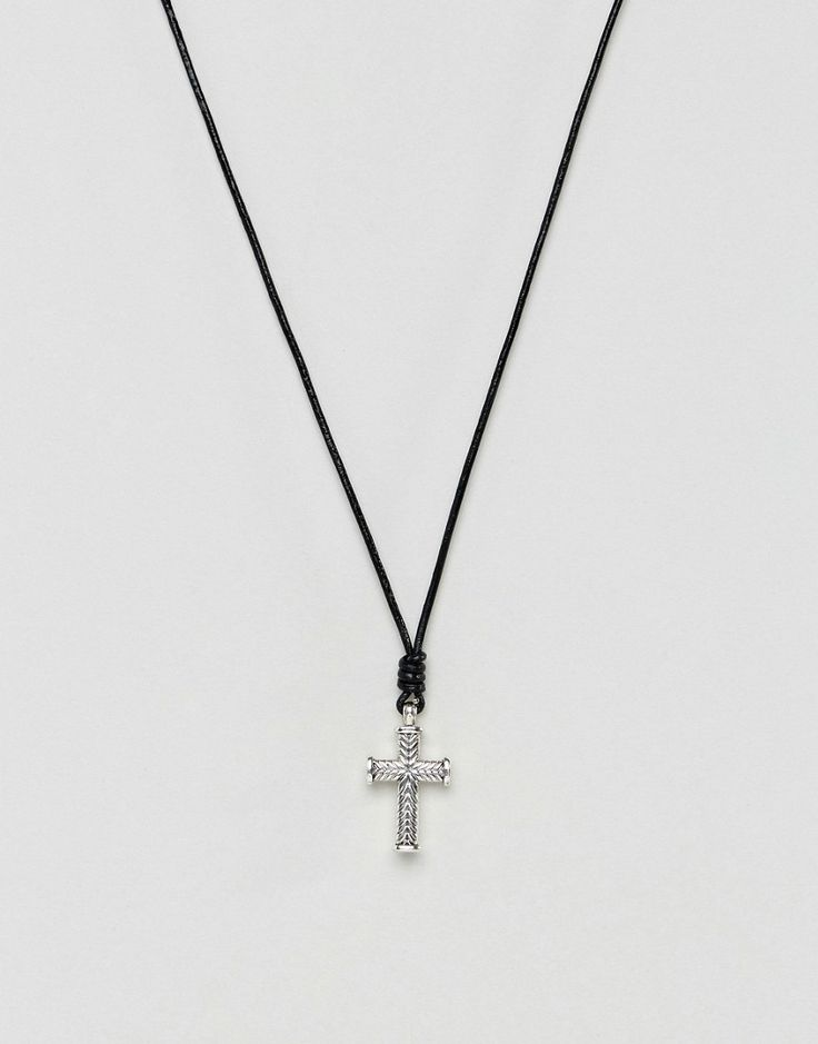 219 best Silver Cross Necklace images on Pinterest | Silver ...