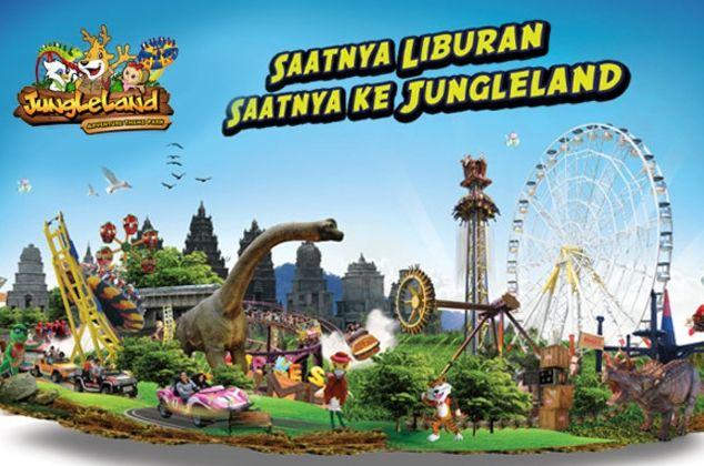 Harga Tiket Masuk Jungleland Bogor Macam Harga Tiket Ticket