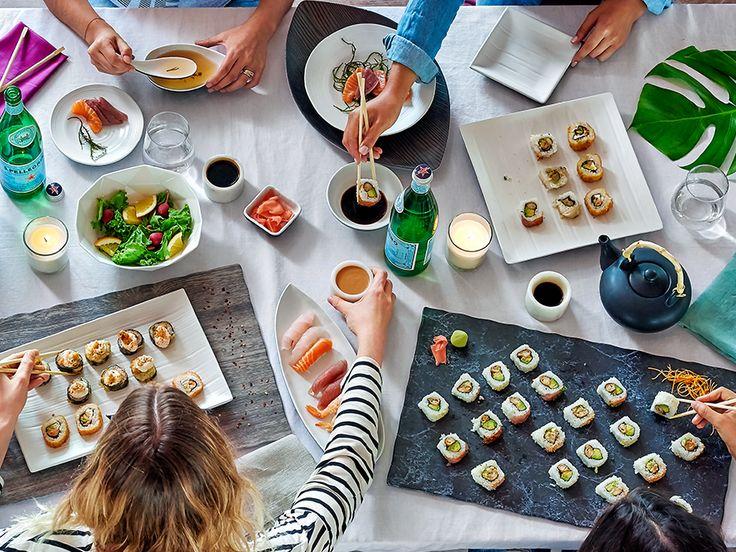 Una vajilla específica para cada comida, en este caso-> SUSHI TIME! Entra a-> www.ripley.com.pe