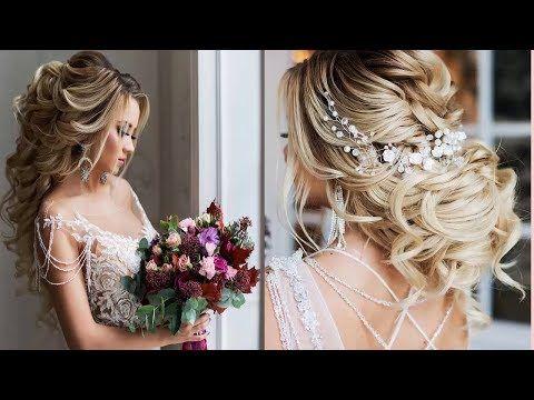 Bridal Hairstyles Tutorials Compilation Elegant Bridal Updo