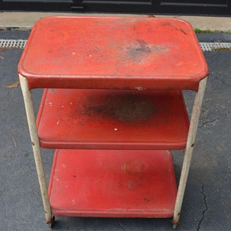 Rusty Cart Into Industrial Bar :: Hometalk