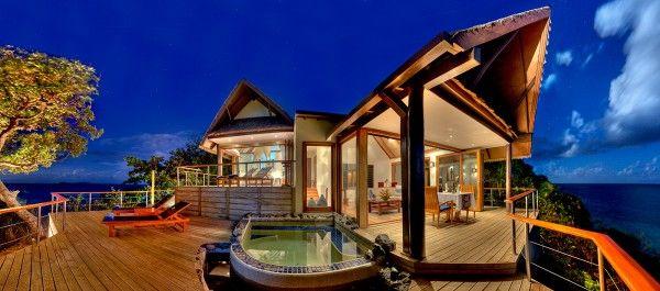 hotel lune de miel ou nuit de noces aux iles fidji suite luxe