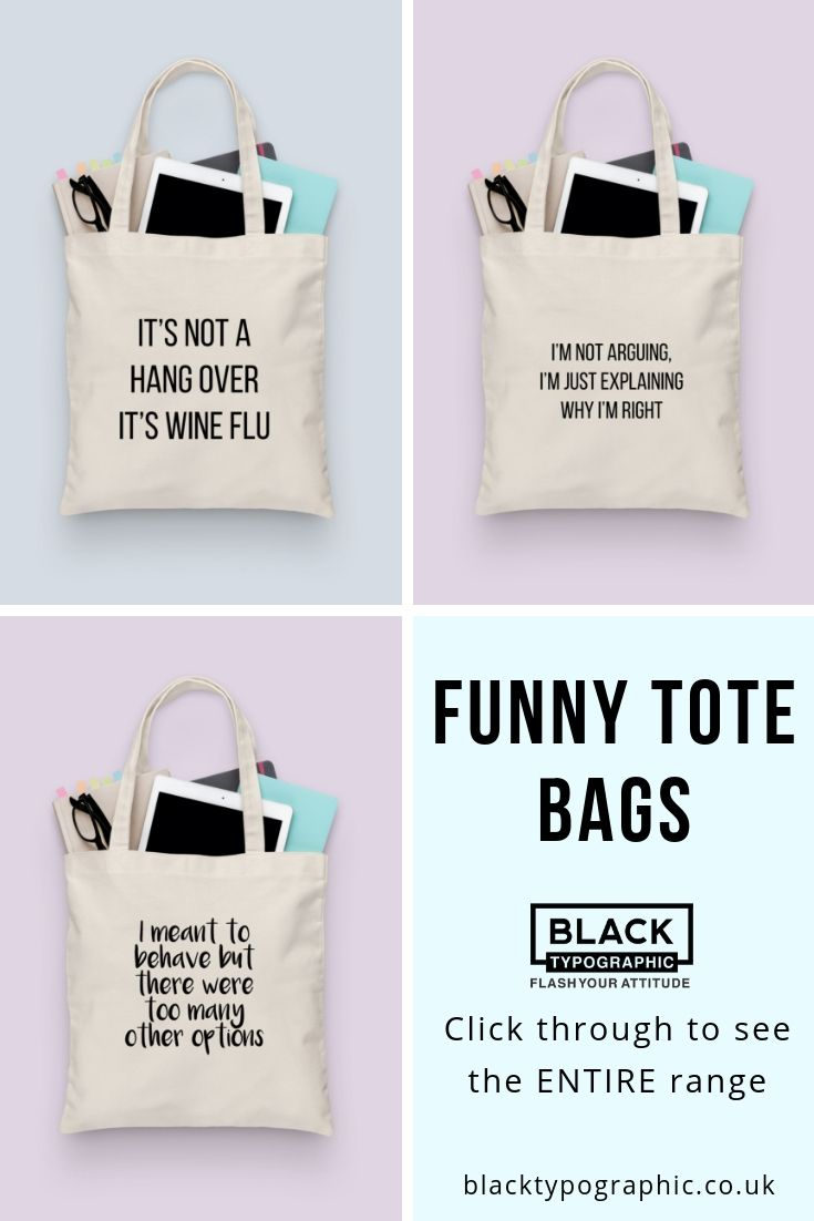 Shopping canvas Tote Bag with QUOTE Shopping bag gift for her with Customisation