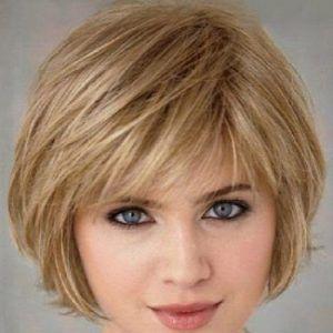 short hairstyles for thin hair pretty